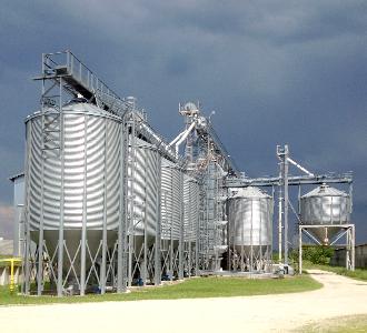 Preprocessing and storage of grain